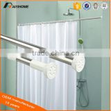 aluminum adjustable shower curtain rod/Shower Curtain Pole/Shower Curtain Rail