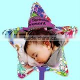DIY star shape inkjet printing balloon, Baby printable gift (free software support, made by hand, no need machine)