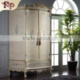Modern Design Fashion Non-woven Collapsible Contracted Cloth Bedroom Closet Steel Wardrobe Cabinets