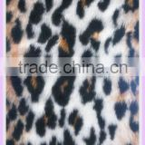 16MM Polyester/acrylic fake leopard fur fabric color combinations for sofa cover set fabric