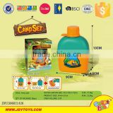 Wholesale kids set camping tent toy camping kettle camping tool set toy