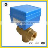 DC5V low voltage motorized ball valve for Leak detection&water shut off system