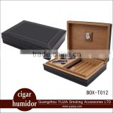 Best portable cedar wood cigar humidor gift set                                                                         Quality Choice