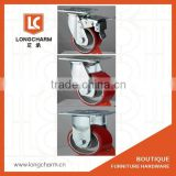 100mm heavy duty swivel caster industrial casters heavy duty caster wheels made in China