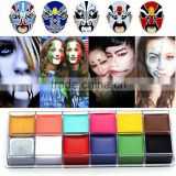 Body Use color tint Paint Type 2016 Fashion Face Paint oli with rainbow colors