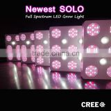 Integrated cob chip hydroponics grow led 600w led grow light with 3 years warranty by Geyapex