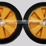 high quality rubber and plastic wheel for agriculture machine