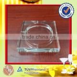 Top grade crystal glass cigar ashtray for sale