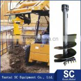 Inquiry about Made In China Earth Drill Auger Attachment For Excavator