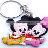 Custom 3d soft pvc keychain / Soft Rubber Keychains / free design wholesale keychains from china factory