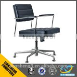 Liansheng Modern Design Low Back Office Swivel Chairs Without Wheels