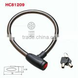 HC81209 safety key cylinder dust cover stronge cable lock