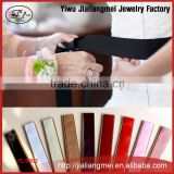 New simple Vera waist ribbon bridal belt Body Jewelry diy bow long girdle 9 color Wholesale