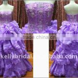 Organza & Beading Pink Quinceanera Dress For Christmas Day