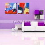 Best Seller Wall Decor Oil Painting Artist Prints 2 Piece Abstract Wall Art for Office