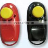 Colorful dog pet training clicker, easy to use