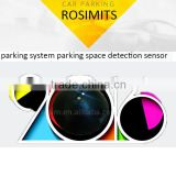 2016 Rosim parking space detection system wireless parking vehicle detector replace ultrasonic sensor