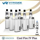 Safety No Burning electronic cigarette Hottest around the world l Cool Fire IV Plus Innokin