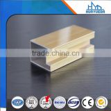champagne anodized aluminium extrusion profile for building and industry with good price