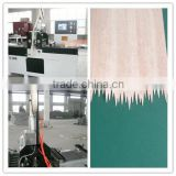 Wood finger jointing machine