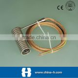 water immersion electric coil heater element High accuracy dual temperature thermometer Type K thermocouple