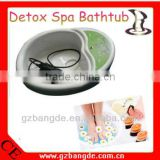 Ionic Detox Massage Foot Remote Control and Digital Readouts Beauty Machine BD-A009