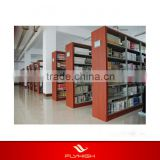 modern display custom wood panel metal book shelf book cabinets library shelves