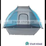 Summer 5+ Person portable beach sun shade tents