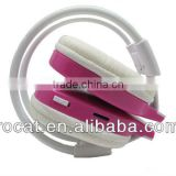 Portable beautiful stereo bluetooth headset headphone