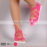 China factory latest design fashion jelly new model shoes women