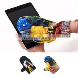 Microfiber Mitten 2 Types Masterpiece Printing Multifunctional Optical Product Semiconductor LCD Cleaning