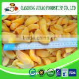 IQF Cut Yellow Peach Pieces For Jam Use