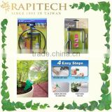 New Product Patented Water Spike Adjustable Rotating Hanging Hook Pot Holder Garden Tool