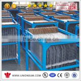 Copper, Zinc, Nickel, Cobalt and Manganese Electrowinning Rolled lead/calcium (0.07) / tin (1.35%) anode