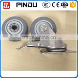 18 inch steel heavy machine moving roller wheels for furniture