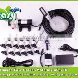 20pcs nozzles outdoor cooling system with slip lock connector. fog misting system,Mist cooling system.Aeroponics.