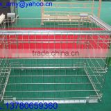 Zinc galvanised wire mesh container for EUR customersXHL-09