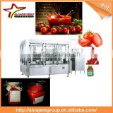 Best sale tomato paste sachet packing machine tomato ketchup making machine tomato sauce filling machine