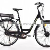 CE bike/drive range 100km Intelligent Brushless motor power bicycle/8speed gears 250W electric bicycle (TK-EB004)