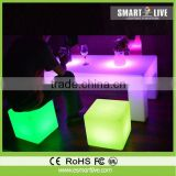 Shunde factory unique supplier led cocktail tables and chairs
