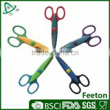 Korean kids fashion design wholesale craft decorative scissors