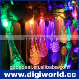 Holiday Decorative RGB Solar Fairy LED String Lights
