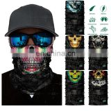 High Quality Headwear Scarf Wrap Tubular Bandana Skull Face Tube Mask Seamless Style Bandana