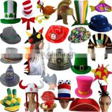 Factory direct sale top quality wholesale party funny various cheap hats for adults MFJ-0043