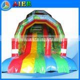 New Design Inflatable Jungle Slide with arch