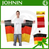 Hot 190T polyester waterproof custom design body flag