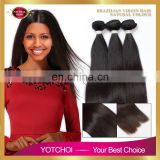 Wholesale Supply 100% Brazilian Black Silky Straight Human Hair Extension
