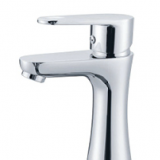 Single Lever Brass Chrome Basin Faucet
