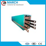 7P 10P 100A Copper PVC enclosed conductor busbar with waterproof strip
