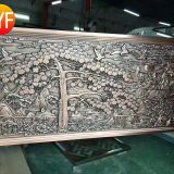Foshan Manufactory Metal Aluminium Engrave 10mm Wall Panel